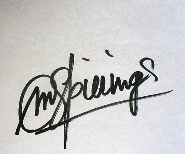 Martin Spierings's Signature