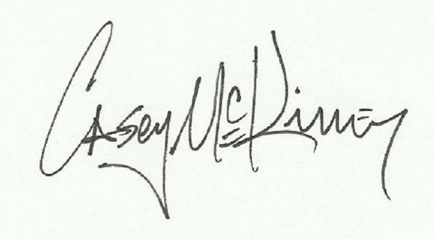 casey mckinney's Signature