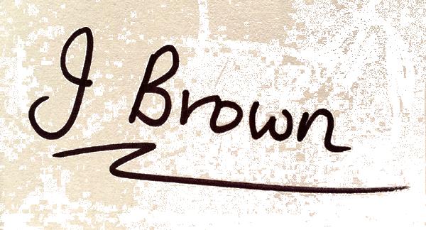 Janice Brown's Signature