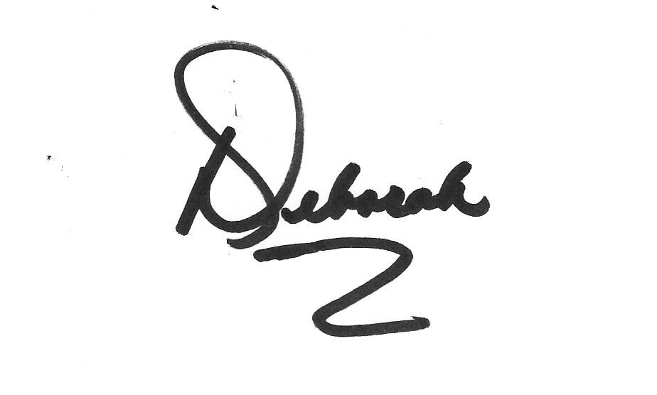 Deborah Drinon's Signature