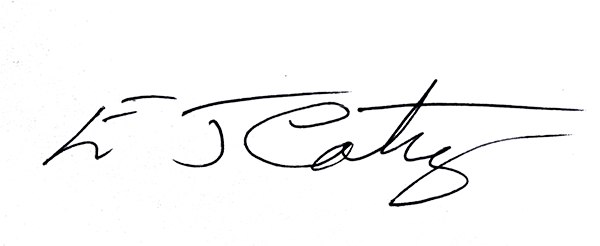 Edward Cothey's Signature