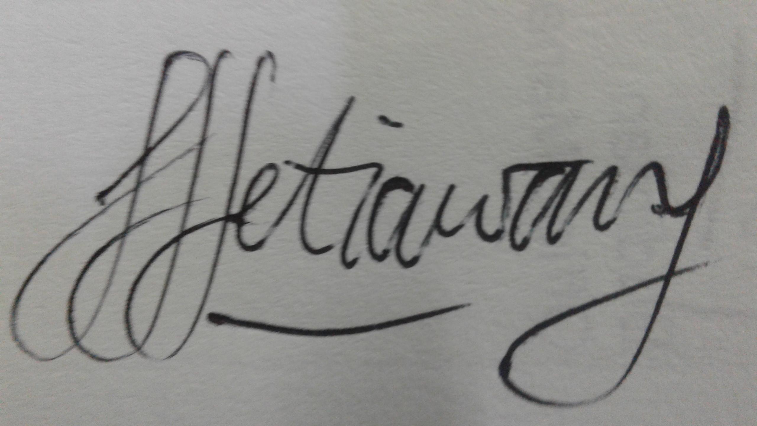 Joko Setiawan's Signature
