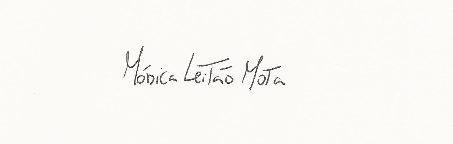 Monica Leitao Mota's Signature