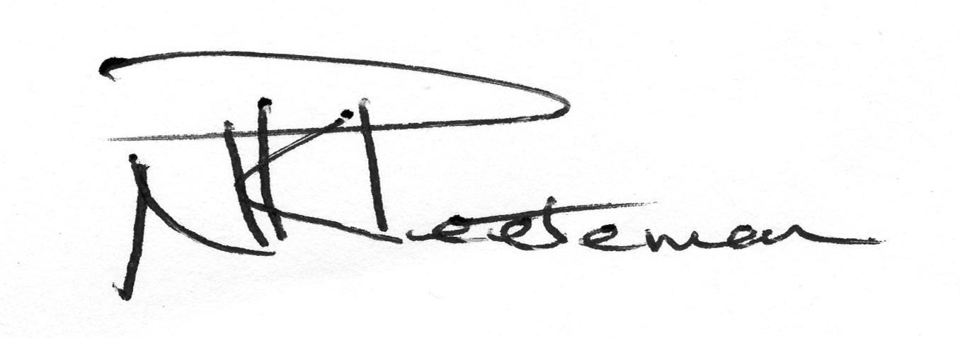 Nickolas Peeteman's Signature