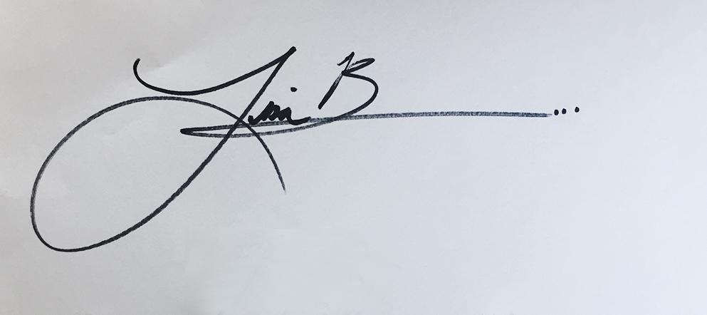 Lisa Bauer's Signature