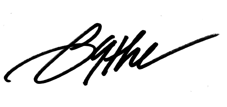 Beth bathe's Signature