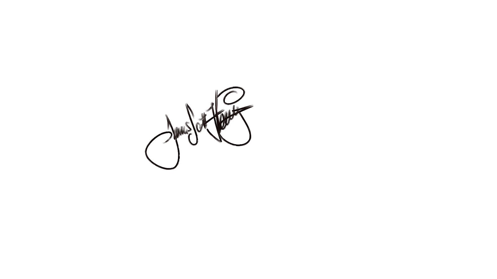 James scott Fleming's Signature