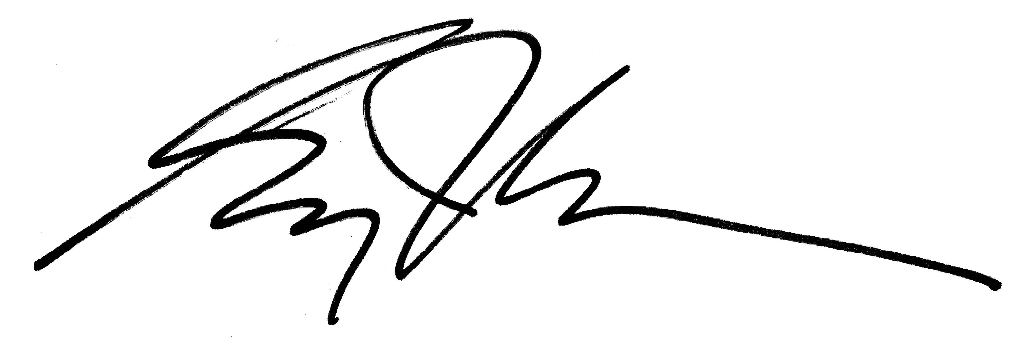 greg j lewis's Signature