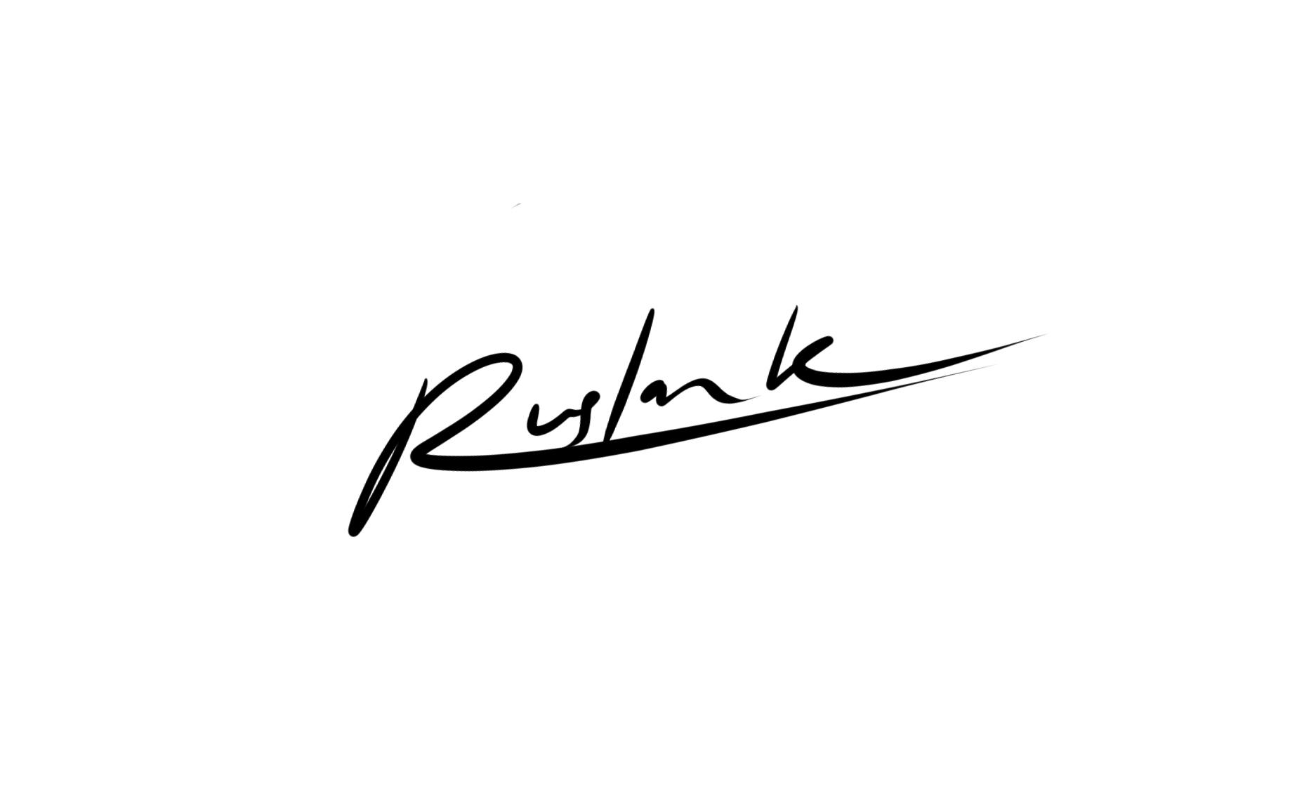 Ruslan Kurmaniattafa'ul's Signature