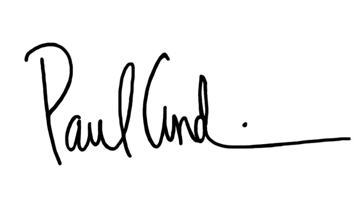 Paul Lawrence Andino's Signature