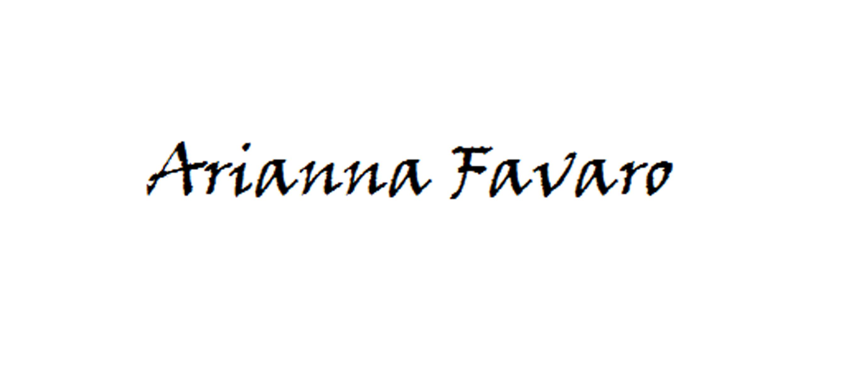 Arianna Favaro's Signature