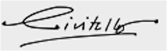John Civitello's Signature