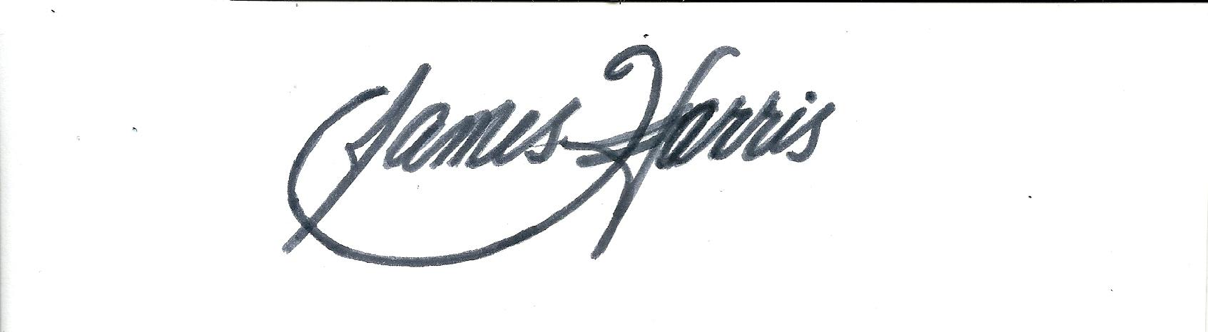 James Harris's Signature