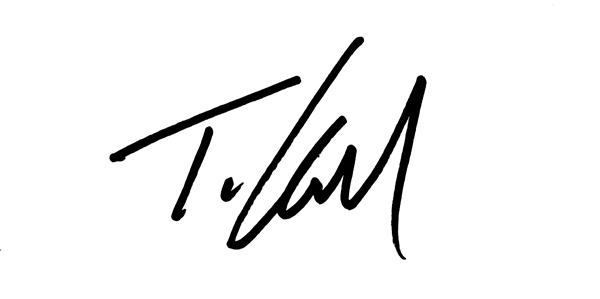 Thomas Howell's Signature