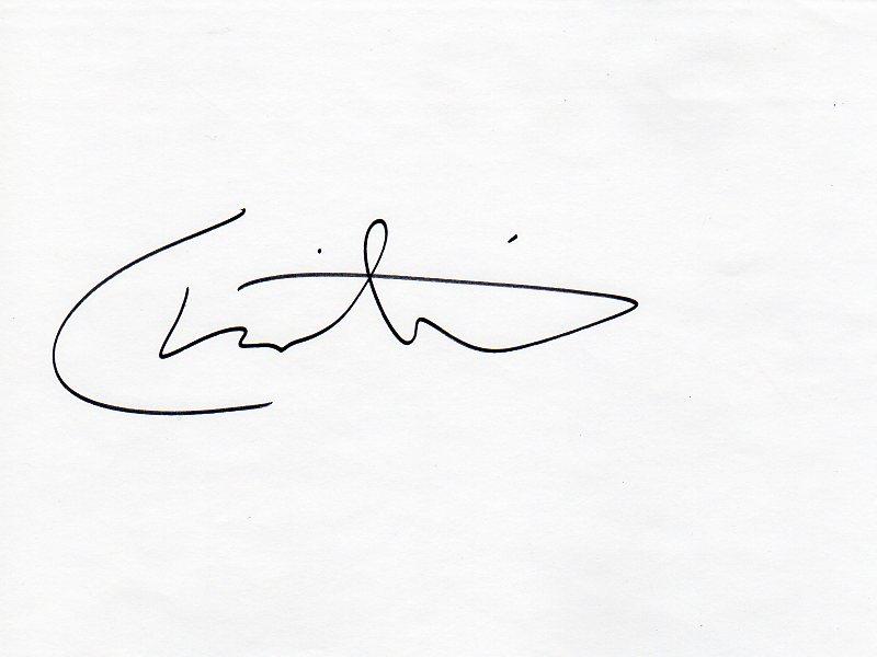 Christina deSousa's Signature