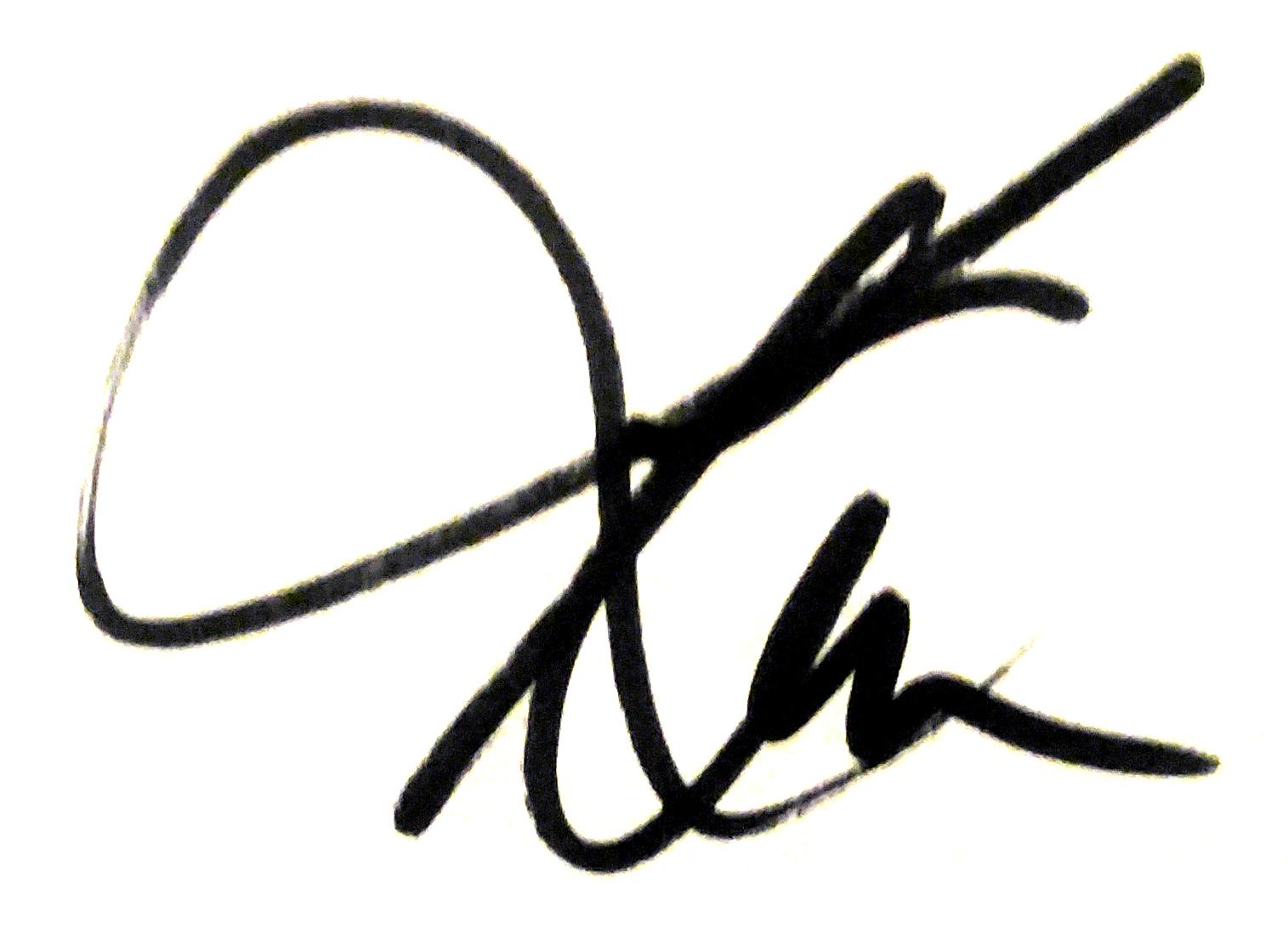 Keith McCrea's Signature