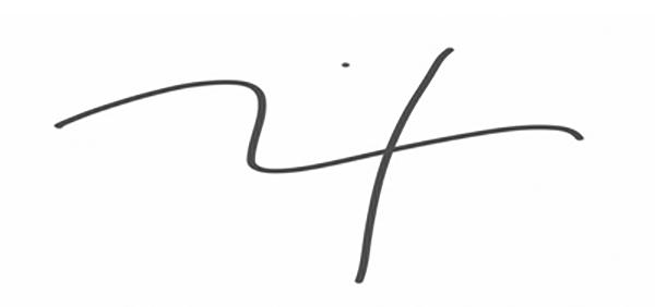 Andrew Nixon's Signature