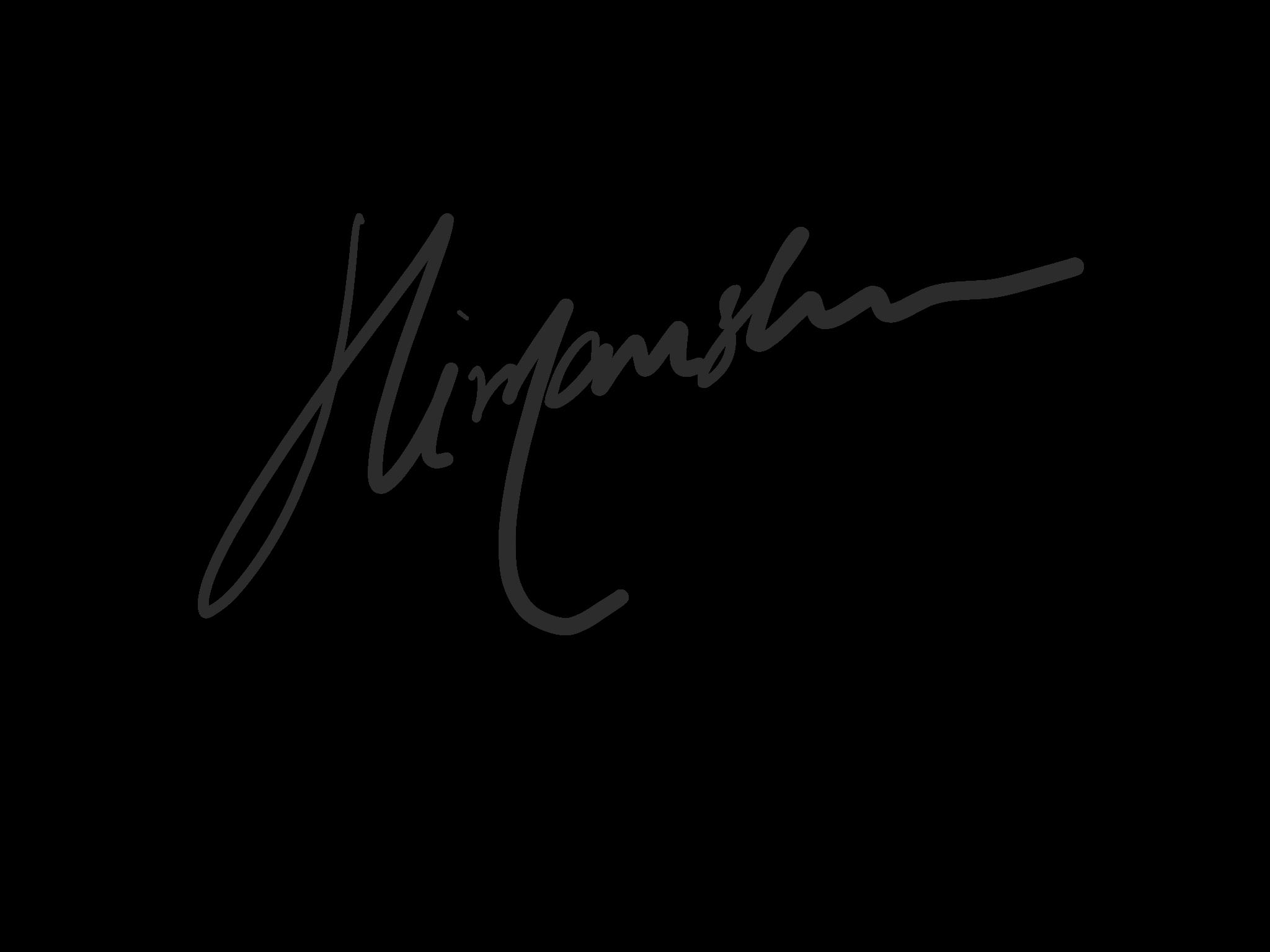 Himanshu Bharadwaj's Signature