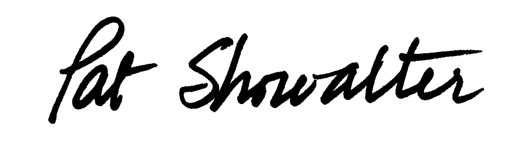 Pat Showalter's Signature