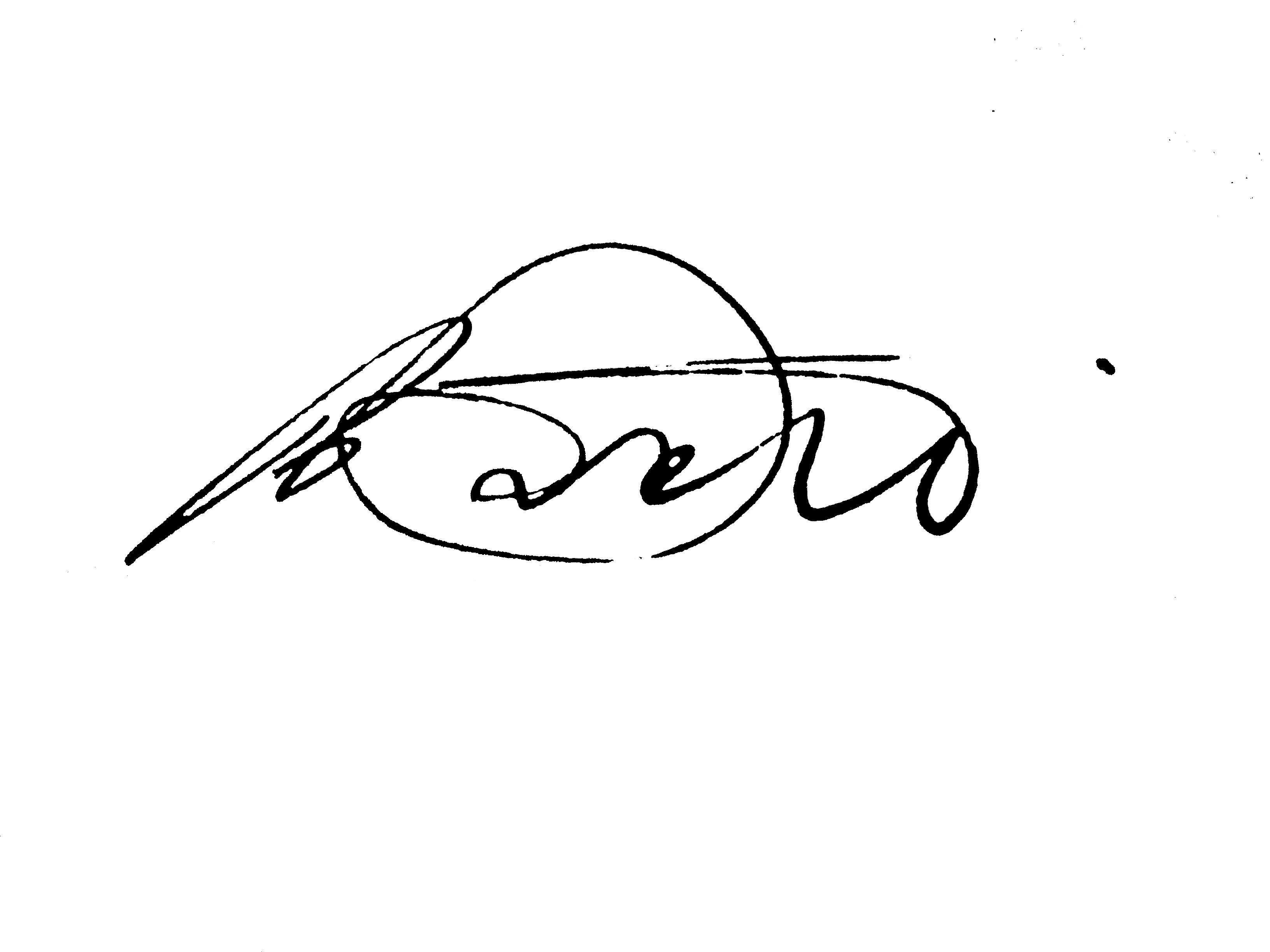 Paolo Pisani's Signature