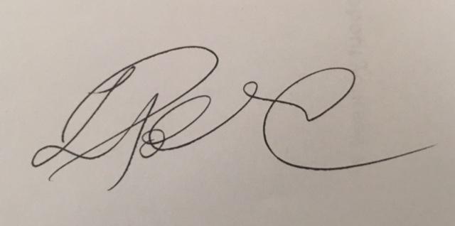Lisa Pollard's Signature