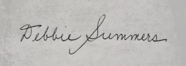 Debbie Summers's Signature
