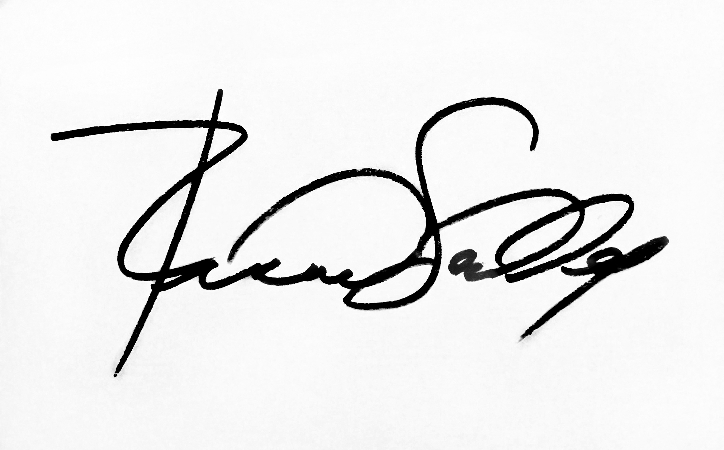 Richard Scudder's Signature