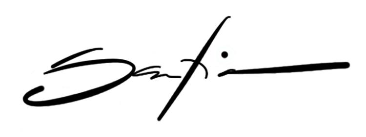 RON SANTIANO's Signature