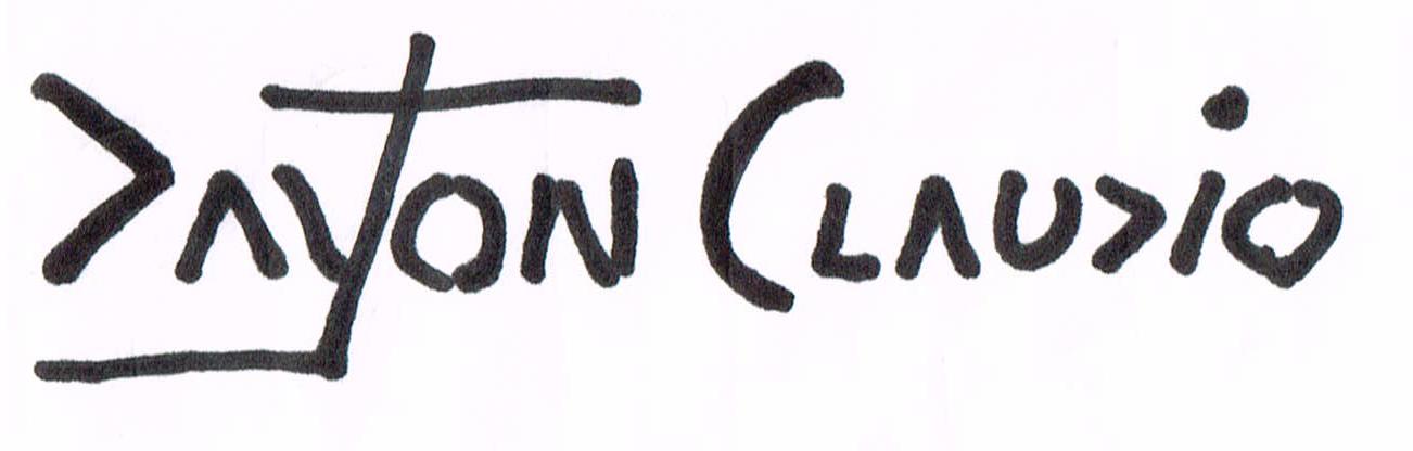 dayton claudio's Signature