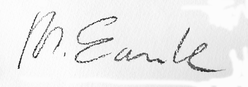 Michael  Earle's Signature