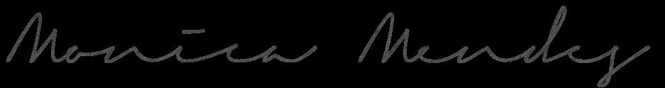 monica mendes's Signature