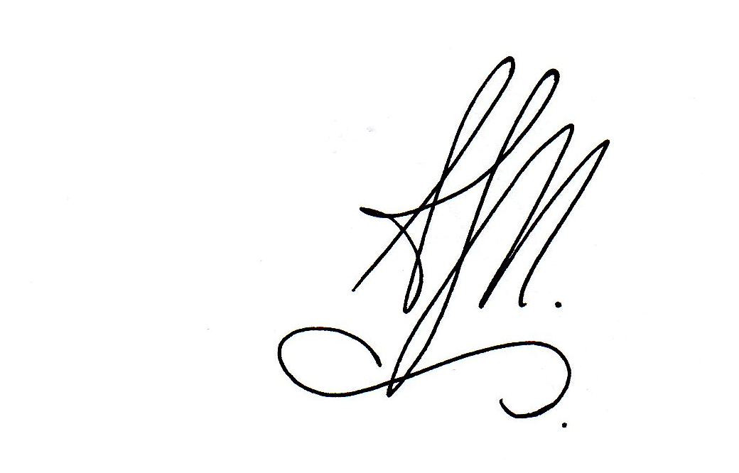Amanda Mironova's Signature