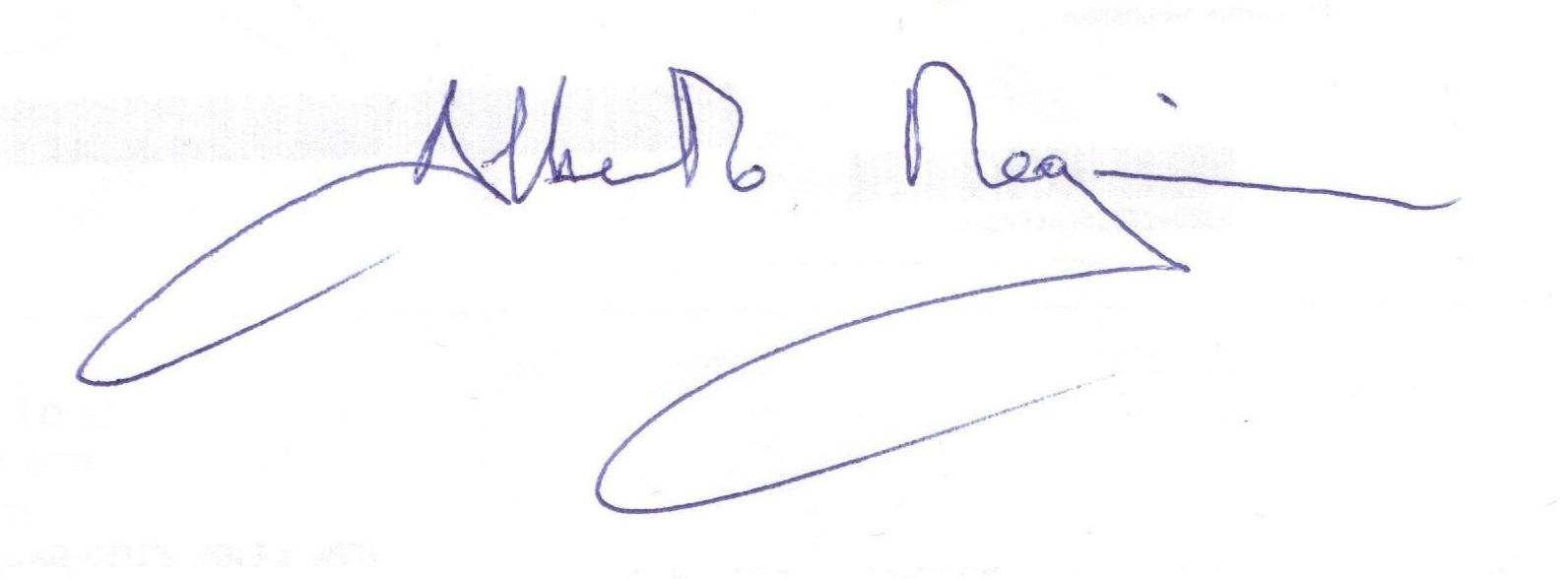 alberto's Signature