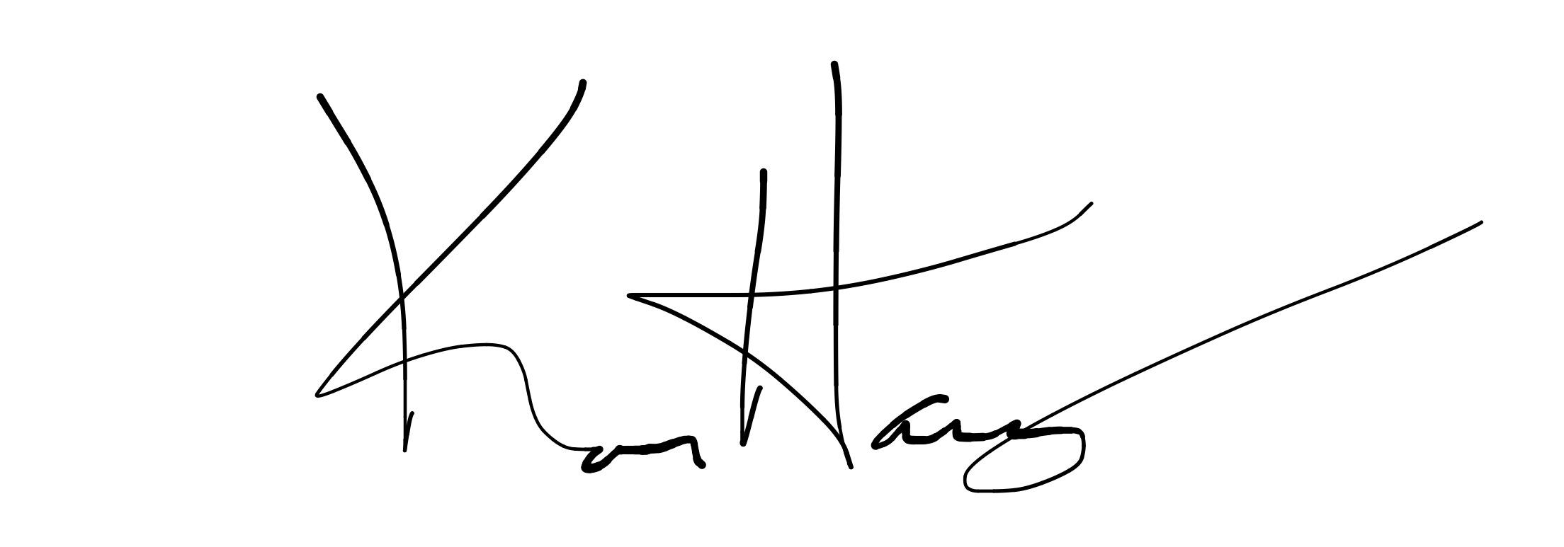 keelan harvey's Signature