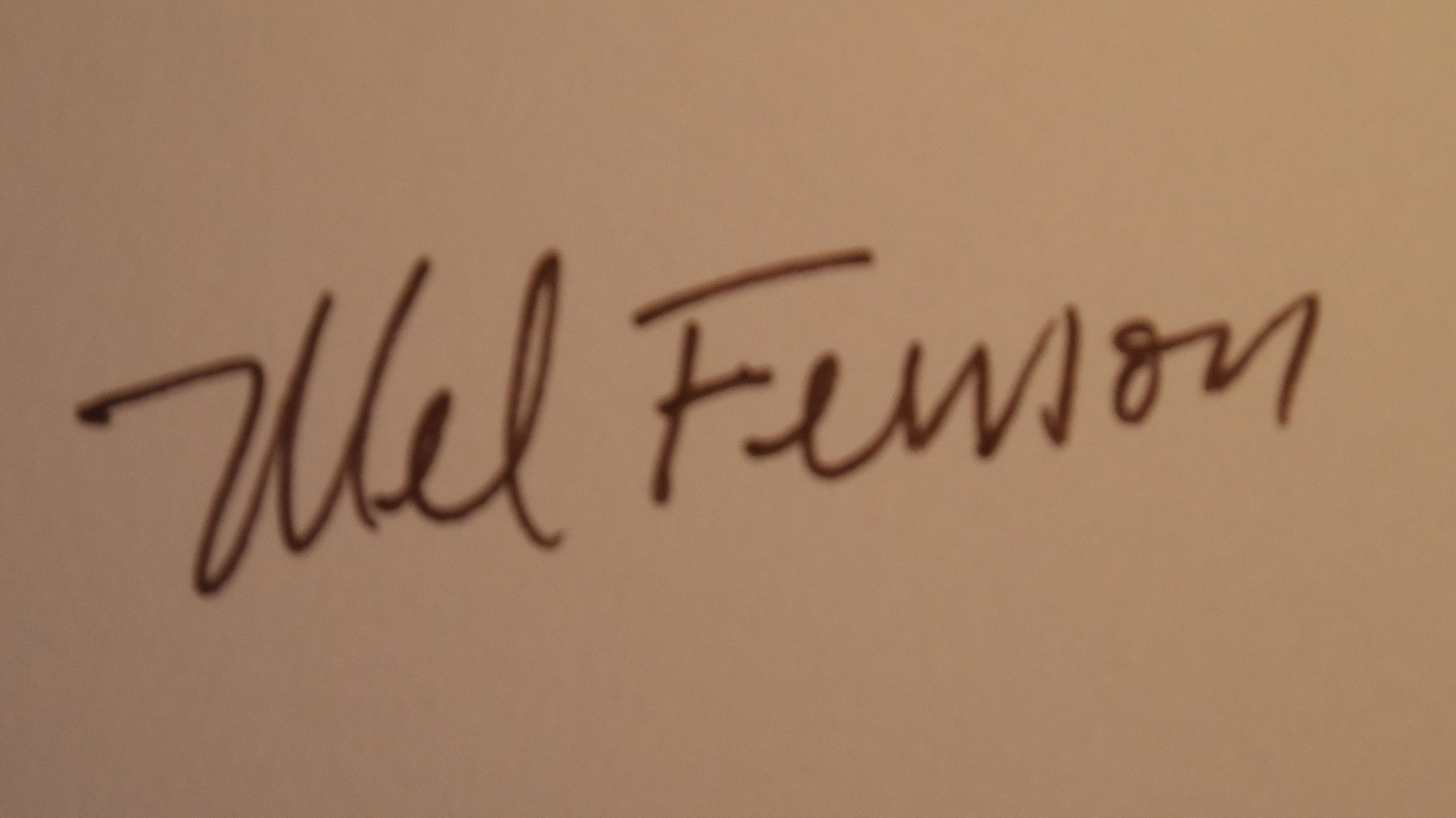 mfenson's Signature