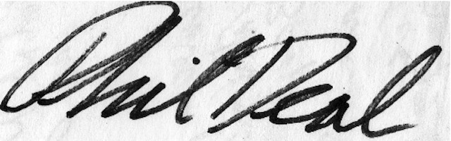 phil deal's Signature