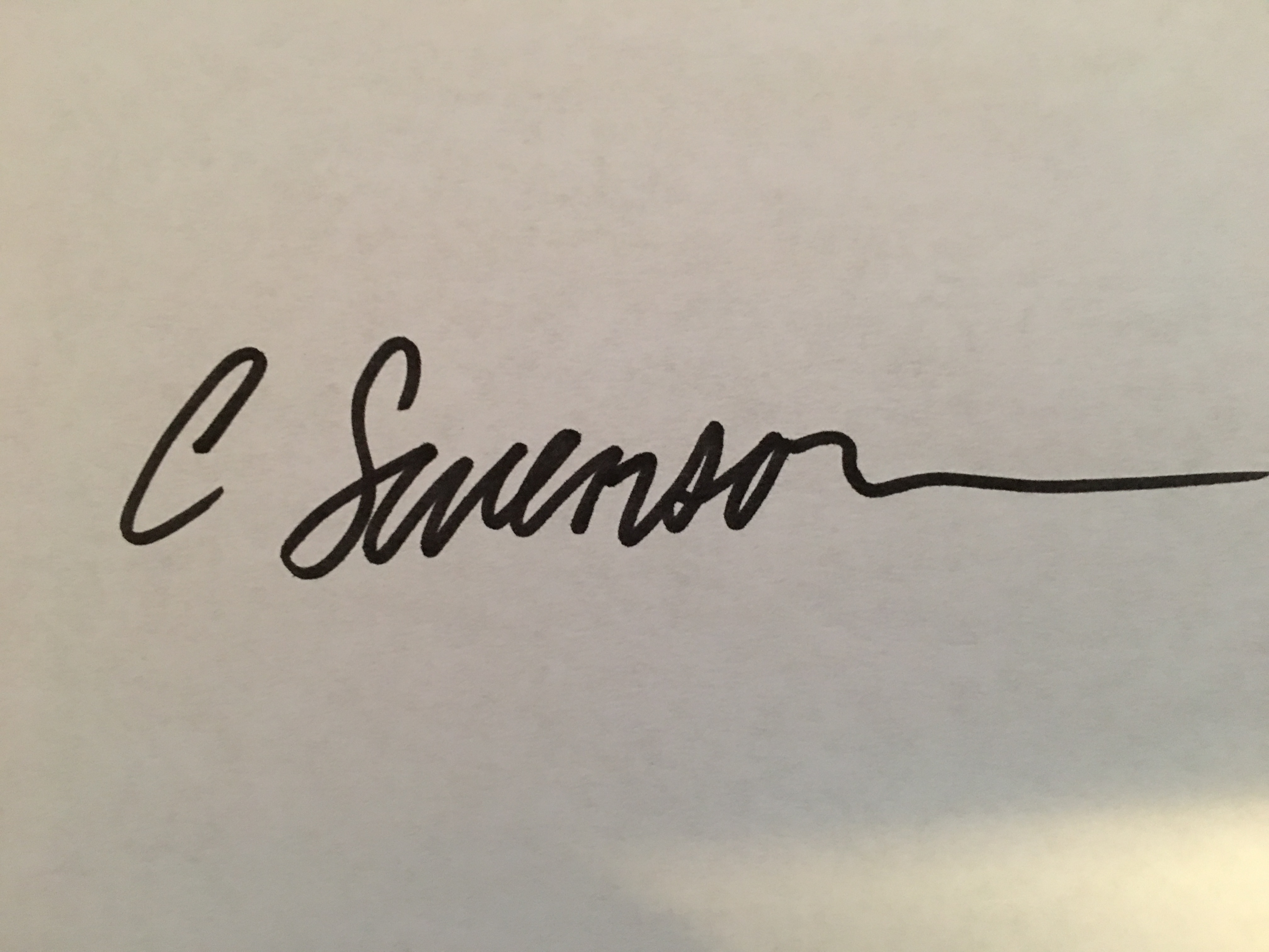 Collene swenson's Signature