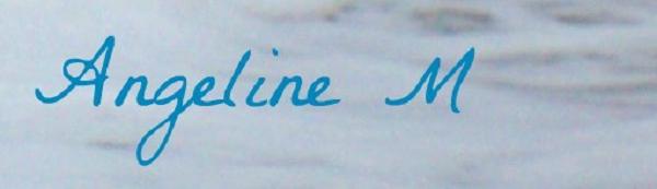 angeline Munoz's Signature