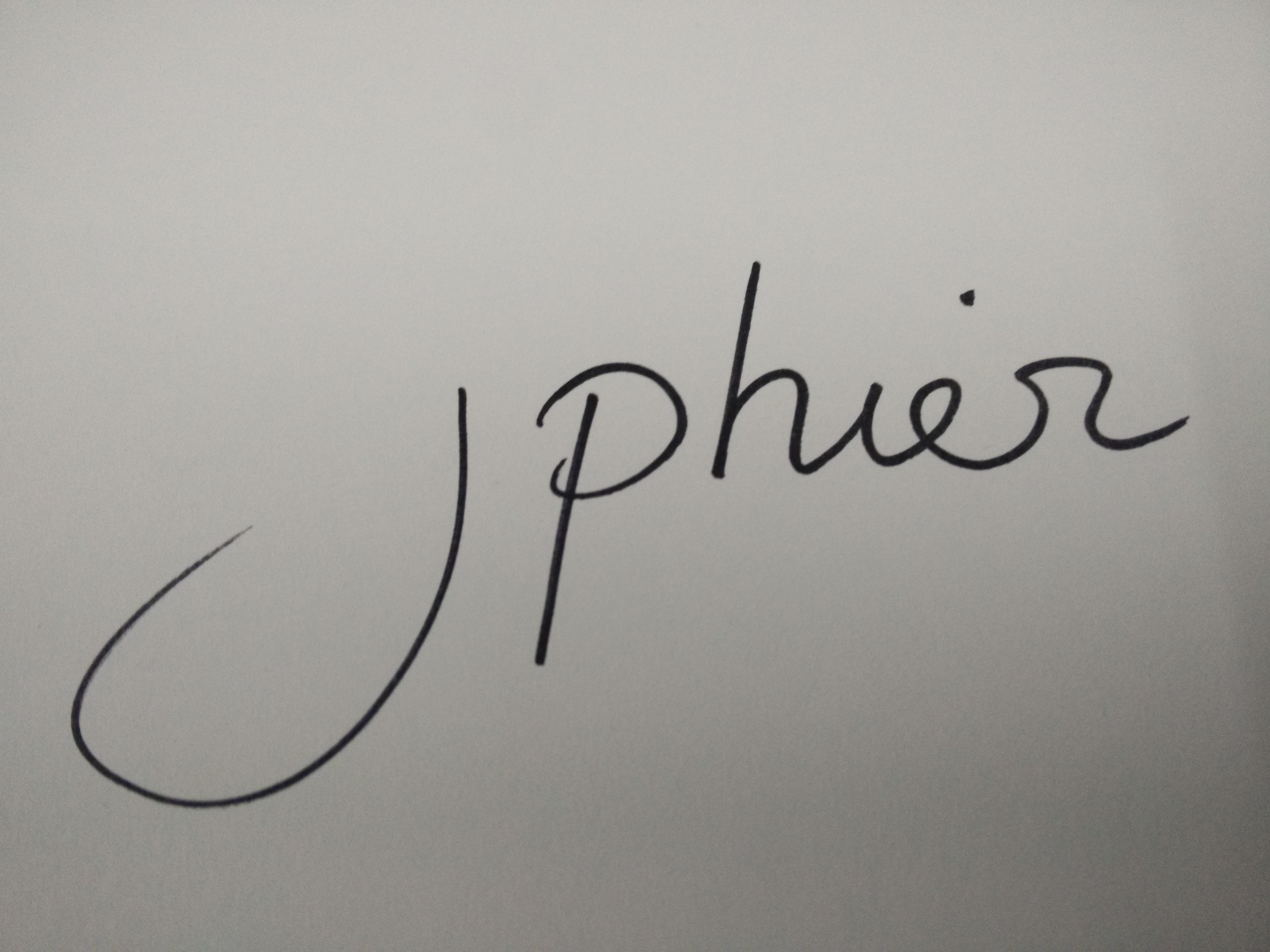 jphier's Signature