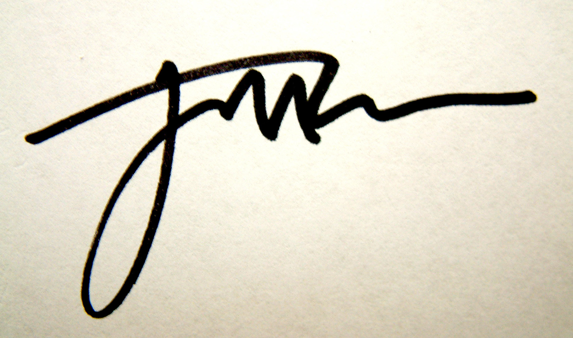 jim Dee's Signature