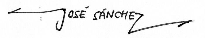 jose sanchez's Signature