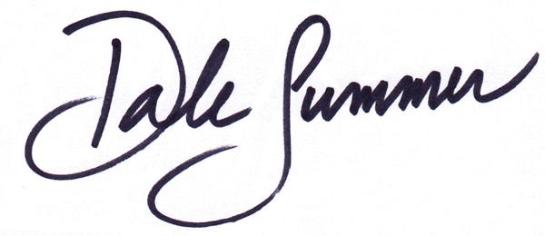 dale summer's Signature