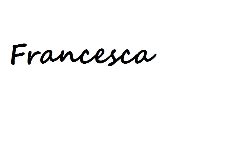 francesca's Signature
