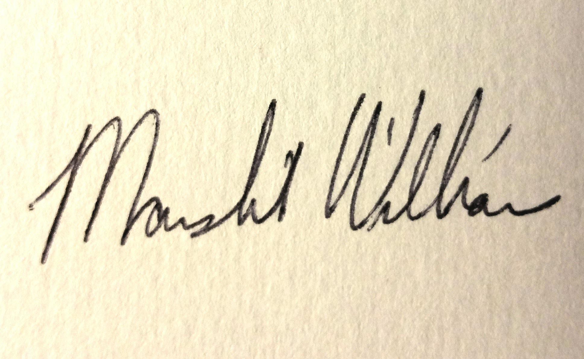 Marshelia Williams's Signature