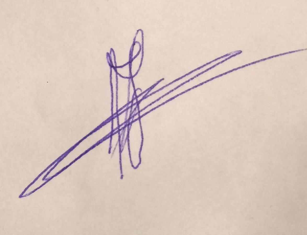 Fedde Nicolai's Signature