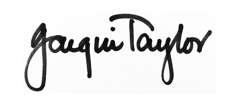 JACQUI TAYLOR's Signature