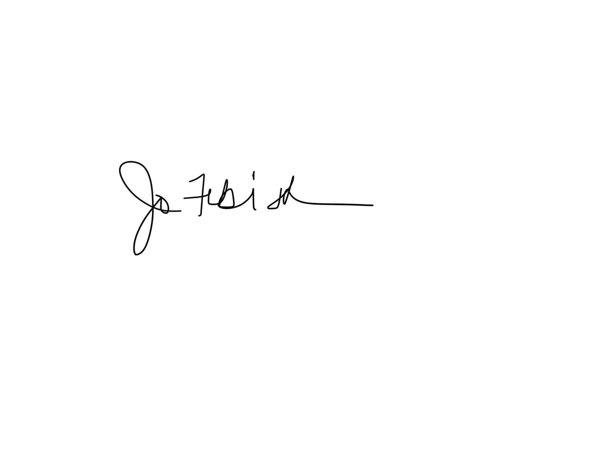 jo febish's Signature