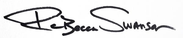 Rebecca swanson's Signature