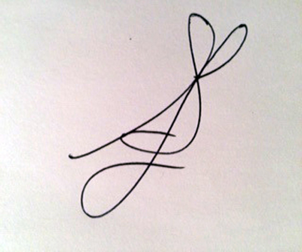 shARON lEMAY's Signature