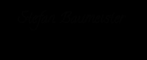 stefan baumeister's Signature
